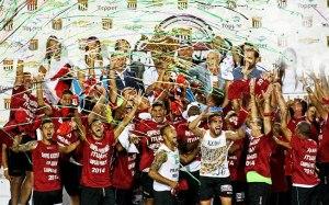 O Ituano se sagarou bi campeão do paulista ao vencer o Santos nos pênaltis. (Foto: Léo Pinheiro/Futura Press/IG)