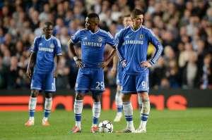 Com ataque impotente, composto porTorres e Eto'o, o Chelsea acabou eliminado. (Foto: Reuters)