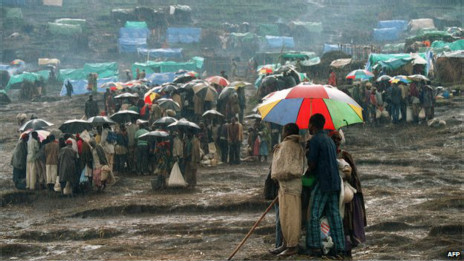 Milhares de pessoas fugiram do país durante a guerra civil. Crédito: AFP