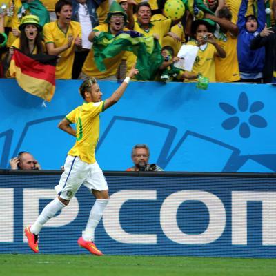 Neymar: artilheiro da seleção e esperança brasileira. (Foto: Danilo Borges/Portal da Copa)