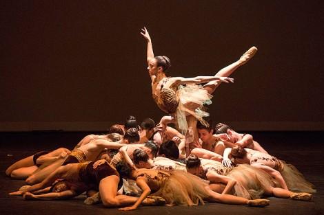 Apresentação da Cia. Brasileira de Danças Clássicas fez parte da mostra não competitiva Estímulo, novidade desta edição. (Foto: Thomas Kolisch Jr.)