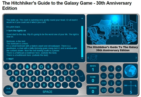 O jogo está disponível no site da BBC UK. (Créditos: Reprodução – BBC UK.)