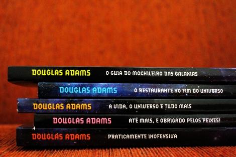 A saga é composta por cinco livros. Créditos: Bruna Hirano
