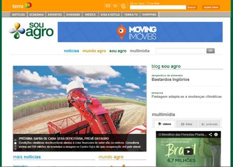 Sou Agro, projeto de valorização da imagem da agropecuária brasileira. (Créditos: Sou Agro/Divulgação)