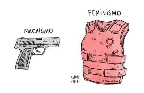 As mulheres sentem o machismo desde a sua face mais cruel - que pode ser o assassinato - até os pequenos resquícios dele na sociedade, como as piadas sexistas. (Créditos: Reprodução/Vítor Teixeira)