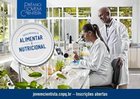 Divulgação do Prêmio Jovem Cientista