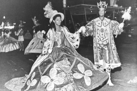 Carnaval em 1975: as protagonistas eram mulheres mais reais. (Créditos: Catraca Livre)