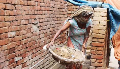 A sociedade de castas na Ã-ndia - Imagem