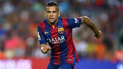 De sada do Barcelona, Daniel Alves pode parar no PSG na prxima temporada (Foto: AFP)