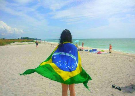 Ter orgulho de seu país é um dos melhores sentimentos. (Créditos: Arquivo pessoal/ Beatriz Kuroki)