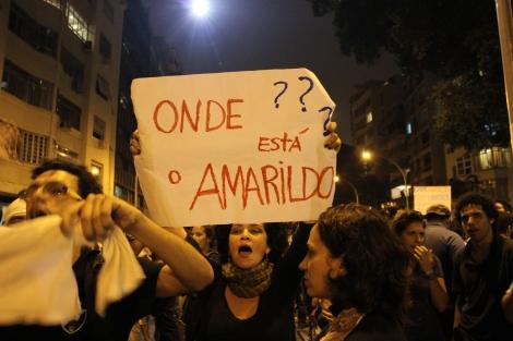 Amarildo Dias de Souza ficou conhecido nacionalmente por conta de seu desaparecimento, desde o dia 14 de julho de 2013, após ter sido detido por PMs e conduzido de sua casa até a sede da polícia do bairro. (Créditos: ANF)