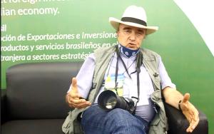 Zootecnista e pecuarista Alvaro Restrepo, da Colômbia. (Foto: Paulo Palma Beraldo)