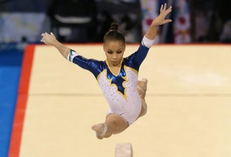 Em Toronto, o Brasil conquistou cinco medalhas na ginástica artística, sendo uma de ouro, uma de prata e três de bronze. (Foto: Getty Images).
