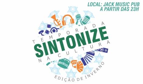 Slogan do Festival realizado pela Produtora Sintonize, com pareceria de Jack Music Pub,  Usare Arte, Social Bauru,  NeoVita Fisioterapia e Pilates,  Madiba Shop e ALFA HOTEL BAURU. (Foto: Divulgação)