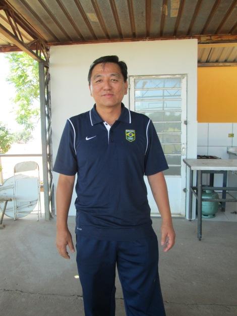 Paulo Tanaka enfatizou a falta de patrocínio de empresas, mesmo as japonesas, que antes eram as maiores incentivadoras do esporte no país (Foto: Camila Nakazato)