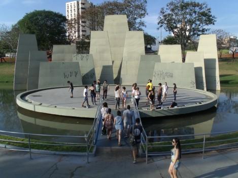 O evento trouxe movimento, arte e expressão ao Parque Vitória Régia. (Foto: Gabriela Silva de Carvalho)