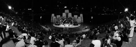 """""""O festival em Bauru serve para quebrar a rotina, as 'panelinhas' em si da cidade"""", diz Rodrigo, guitarrista solo da banda Frost Valley. (Foto: Danilo Lysei)"""
