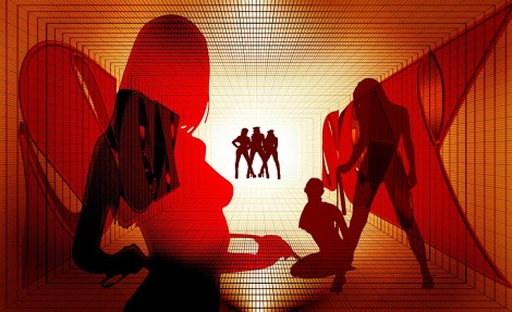A pornografia mainstream é voltada mais para o público masculino e apresenta alguns estereótipos femininos. (Crédito: Pixabay)